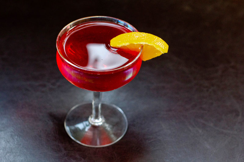 Boulevardier Cocktail || A Less Processed Life