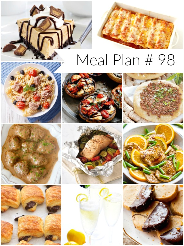Weekly Meal Plan - Ioanna's Notebook