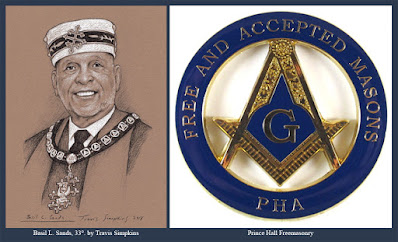 Basil Sands, 33°. Past Sovereign Grand Commander. Prince Hall Freemasonry. by Travis Simpkins