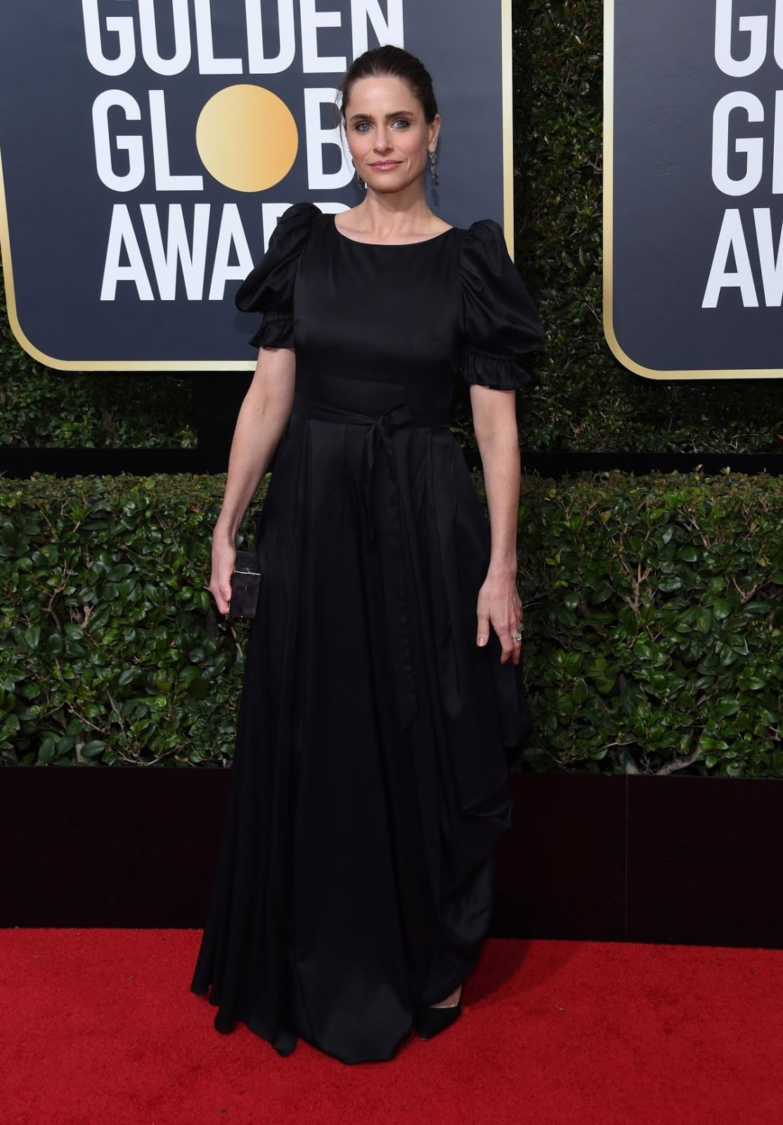 Amanda Peet At 75Th Annual Golden Globe Awards In Beverly Hills