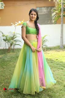 Actress Nikitha Bisht Stills in Lehenga Choli at Pochampally Ikat Art Mela Launch  0426.JPG