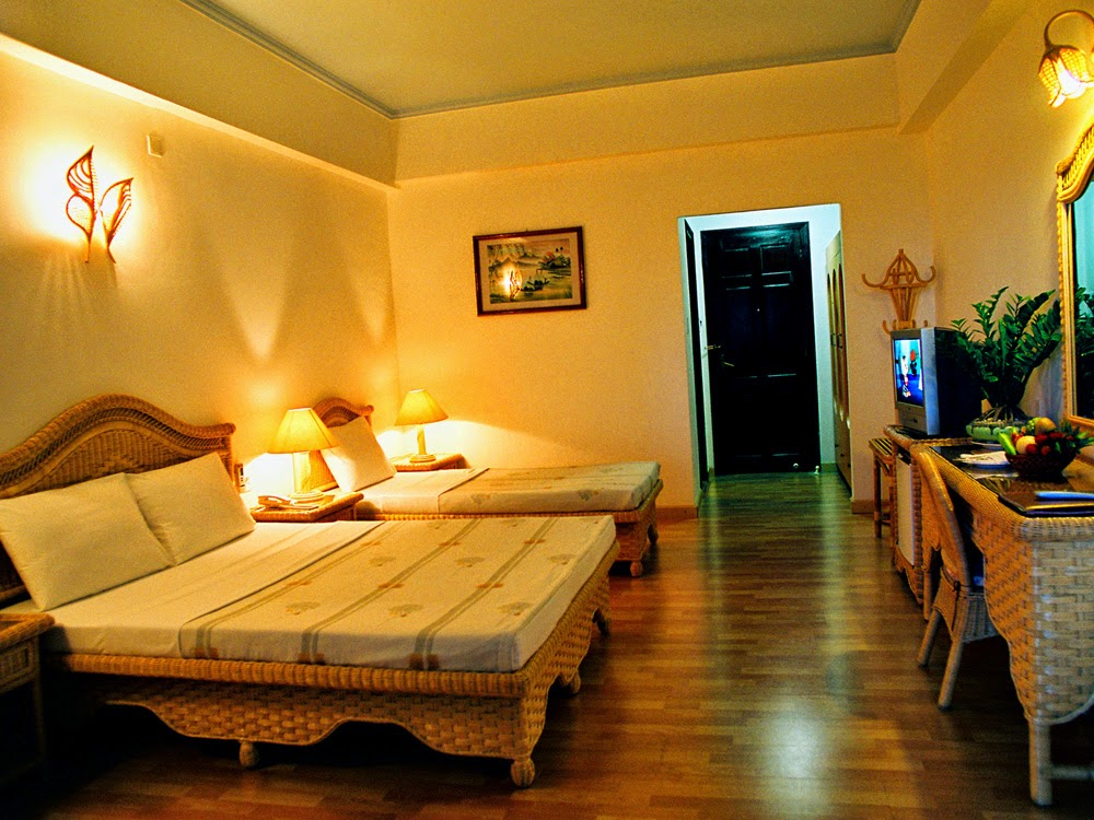 Nội thất khách sạn Xanh Nha Trang