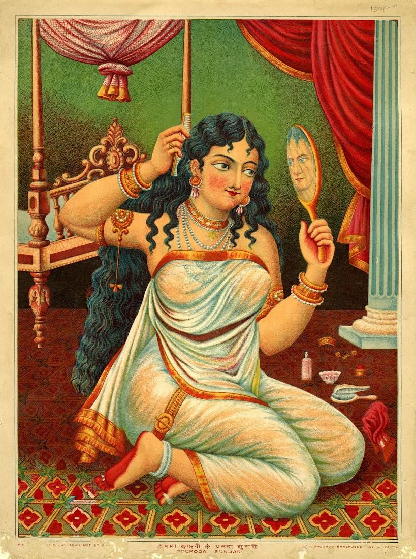 Pramoda Sundari Lithograph Print
