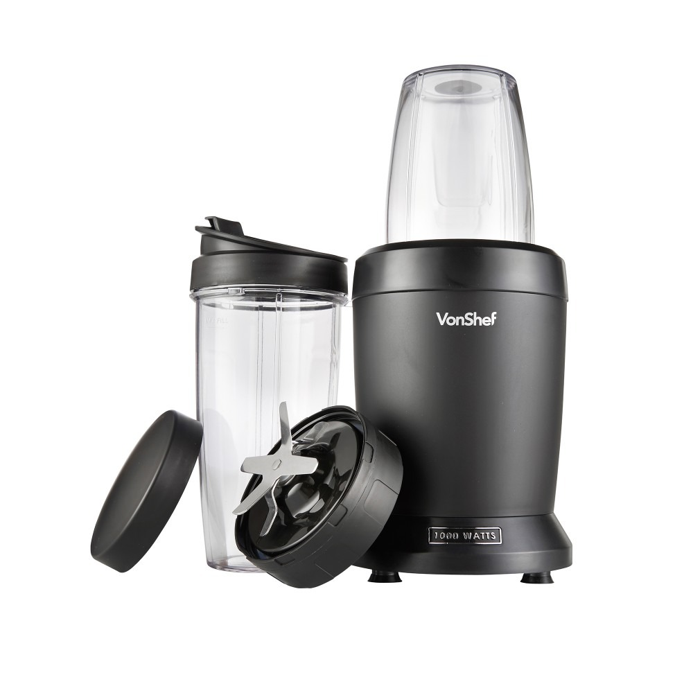 review vonshef ultrablend 1000w blender the test pit. Black Bedroom Furniture Sets. Home Design Ideas