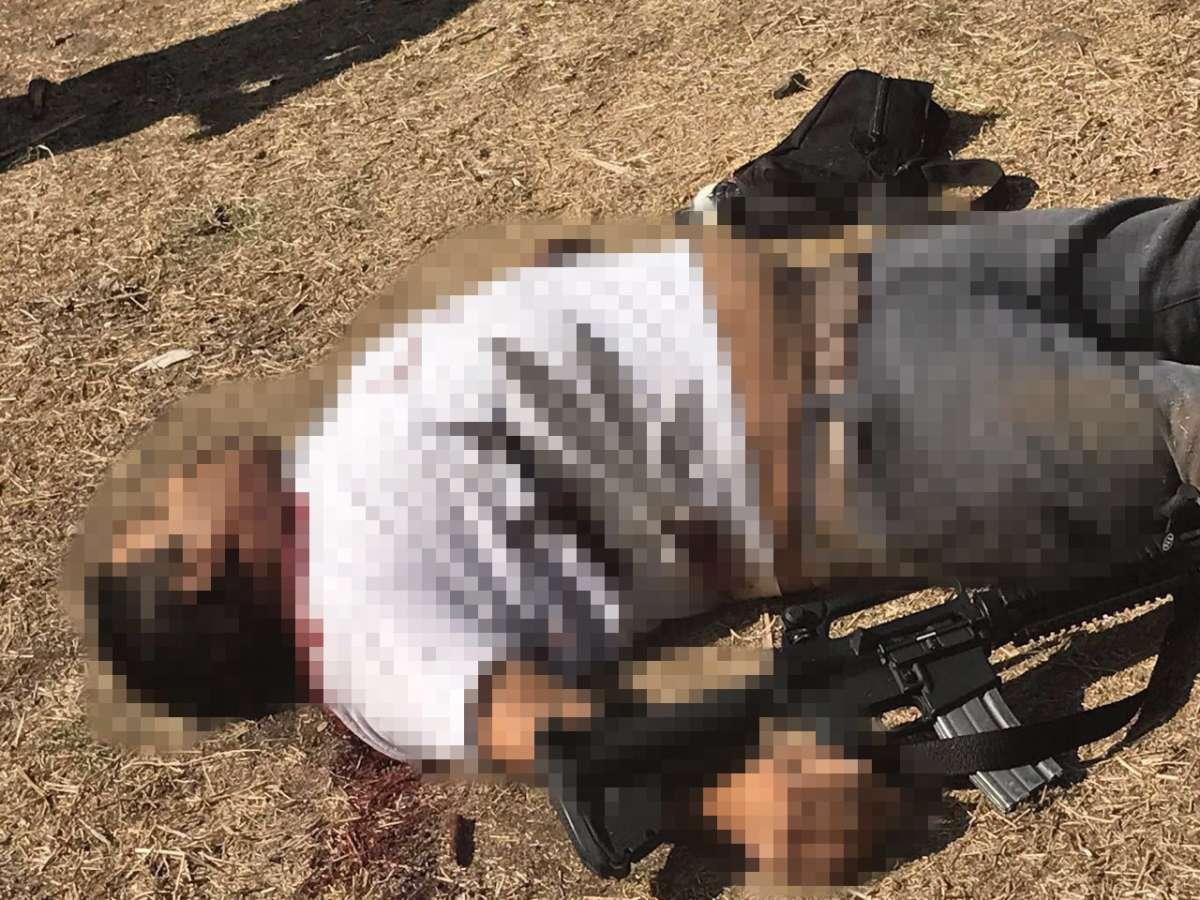 Fotografías; Balacera en Jalisco deja a cinco presuntos delincuentes muertos se rumora iban a tirar cuerpos