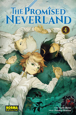"Manga: Reseña de ""The promised Neverland 4"" de Kaiu Shirai - Norma Editorial"