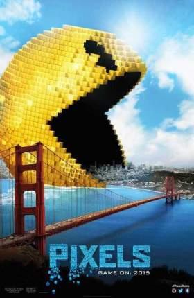 Pixels 2015 UNCUT Dual Audio Hindi 300MB BluRay 480p