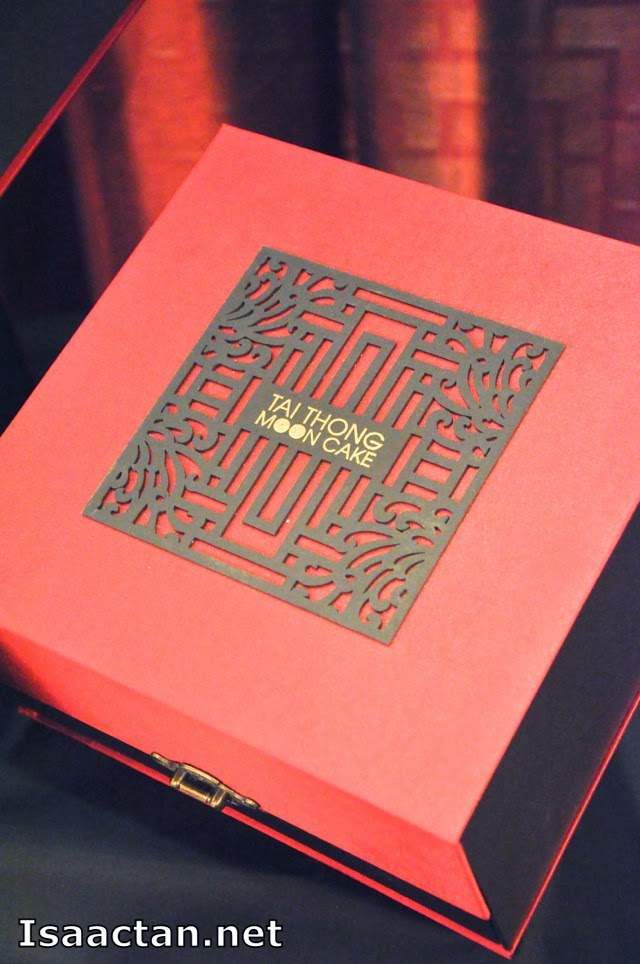 Tai Thong's mooncake packaging