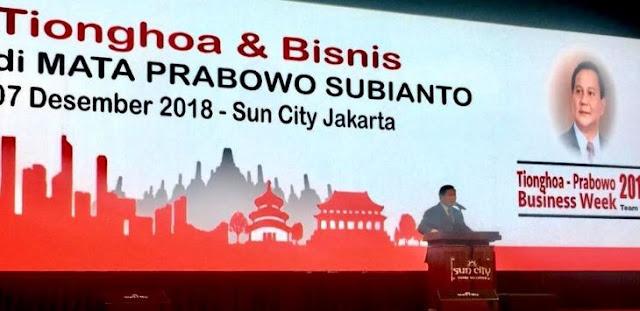 Ada Barisan Taipan Tionghoa di Belakang Prabowo, Nggak Jadi Anti 'Aseng'?