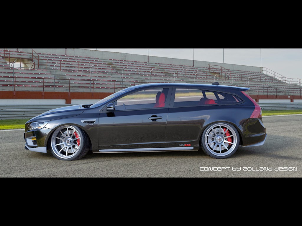 the sport wagon enthusiast zolland design volvo v60 v8 concept. Black Bedroom Furniture Sets. Home Design Ideas