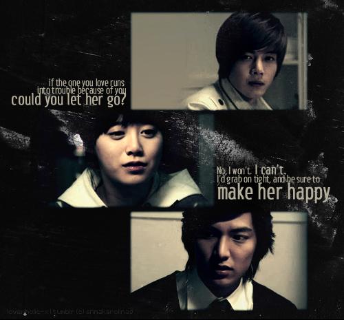 Boys Over Flowers Gu Jun Pyo: Crystal's Cajun Cauldron: K-Drama Top Ten Love Triangles