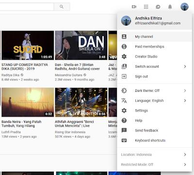 Menambahkan Links Tautan di Channel Youtube