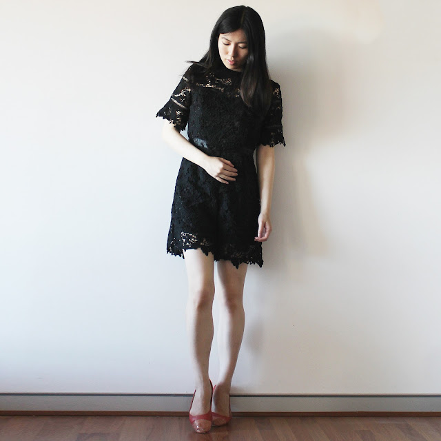 lilyguided review, lilyguided blog review, lilyguided dress, lilyguided review, black lace playsuit cheap, lilyguided taobao, lilyguided playsuit review, black lace jumpsuit outfit