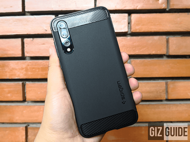 super popular b328e b7379 Meet Spigen Huawei P20 Pro Rugged Armor Case, Solid Protection!