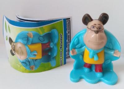 Как выглядит собака Гена из серии игрушек Kinder Surprise The Pooches или Барбоскины?