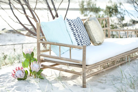 contoh sofa bambu minimalis