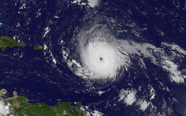 Hurricane Irma seen by NOAA's GOES East satellite