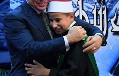 الطفل المعجزة عبد الله حافظ يكشف تفاصل لقائه الرئيس السيسي