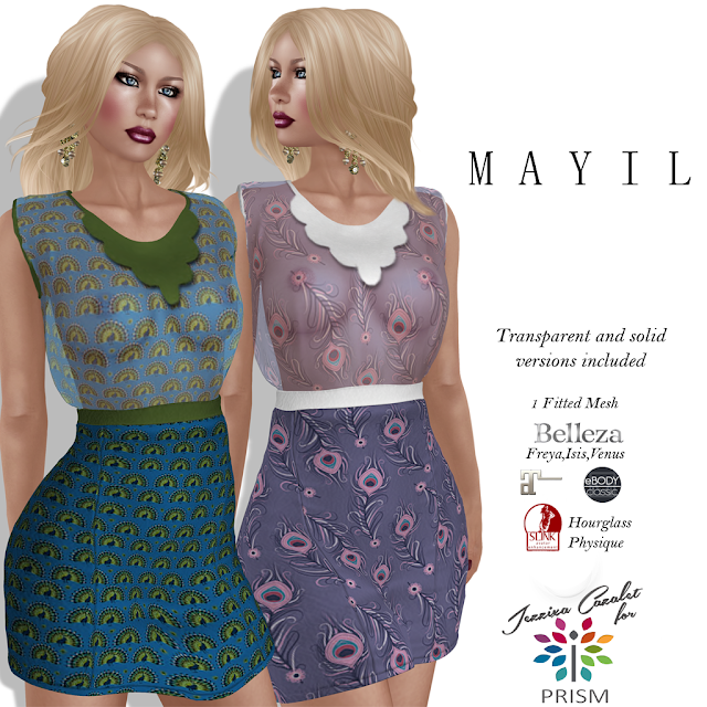 PRISM ~ New Release at the Design Circle by Jezzixa! Mayil Mini Dresses