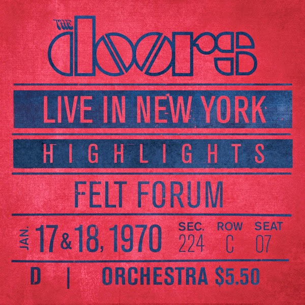 The Doors - Live In New York (Highlights) Cover