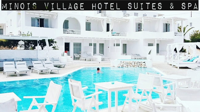 Minois village hotel suites and spa Paros travel video