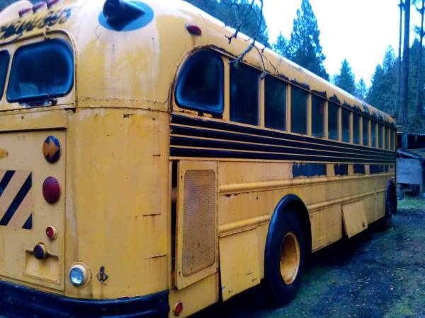 Used RVs 1970 Gillig 636 School Bus For Sale by Owner