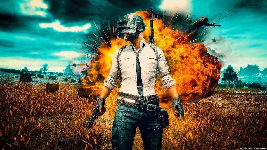 Pubg Playerunknown S Battlegrounds Explosion 4k Wallpaper 52
