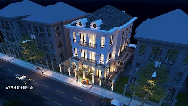 Thiết kế biệt thự 3 tầng đẹp khiến ai cũng ao ước được sở hữu 2