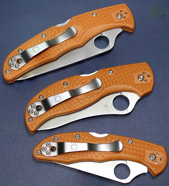 Spyderco HAP40 Stretch - Triplets 2