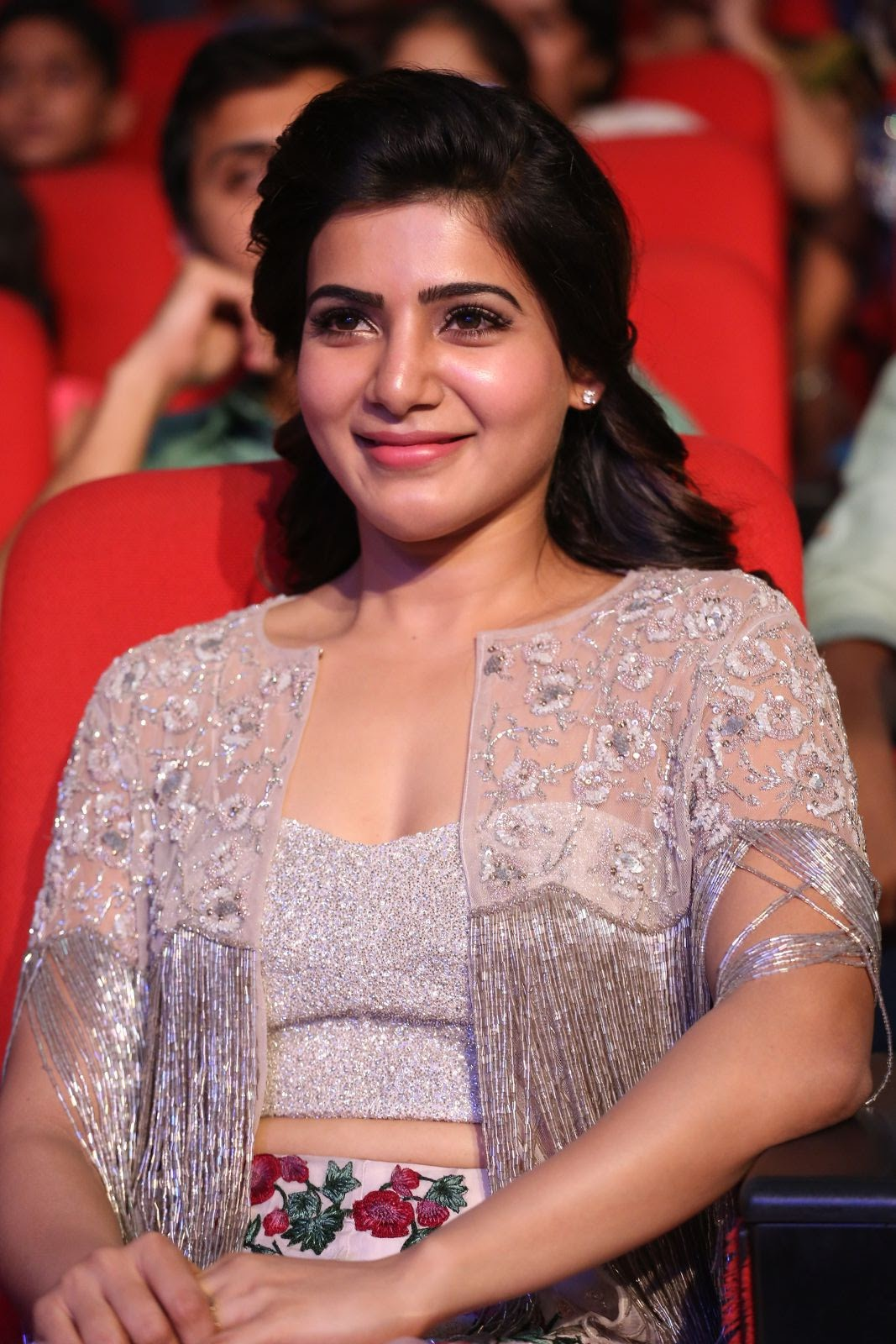 samantha at a aa audio release function photo 5 telugu movie actress hero wallpapers events news stills photo gallery samantha at a aa audio release function