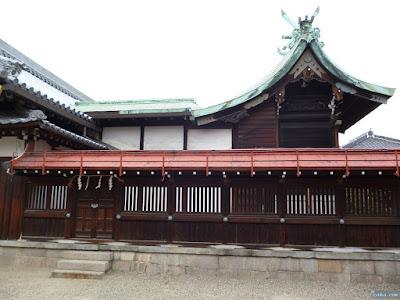 恵美須神社本殿
