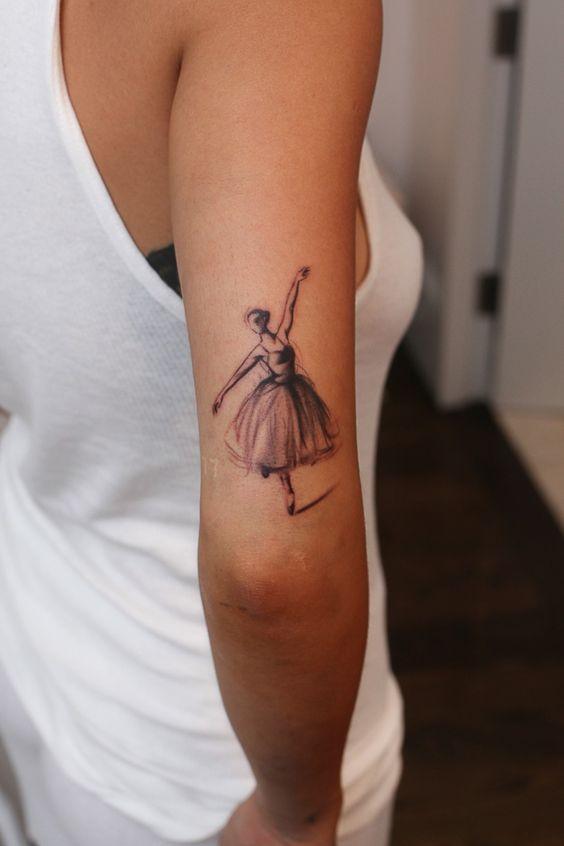 4c40cb49 Tatuajes de bailarinas su significado y sus curiosidades | Belagoria ...