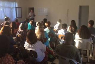 Inicio de la Escuela de la Fe - Verano 2017 en Yumbel con Monseñor Chomali