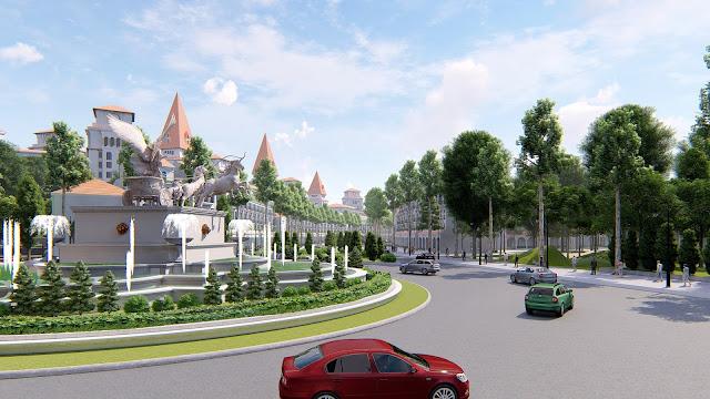 Cảnh quan dự án Sunshin Wonder Villas