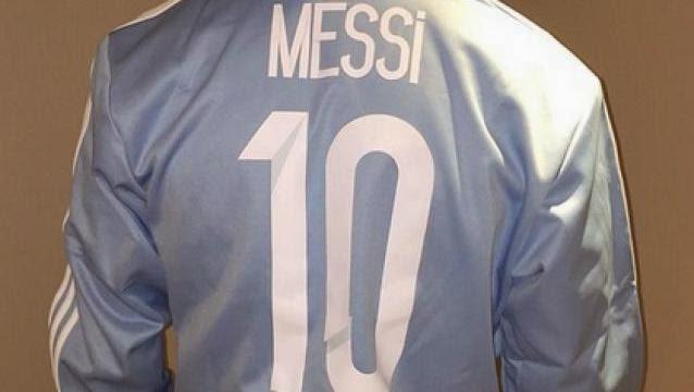 Imagen de Messi colgada en Instagram festejando sus 10 millones de seguidores
