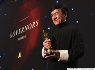 Jackie Chan Finally Gets An Oscar