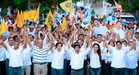 Estamos a un paso de la victoria, el próximo 1 de Julio ganaremos todos: Víctor Mas