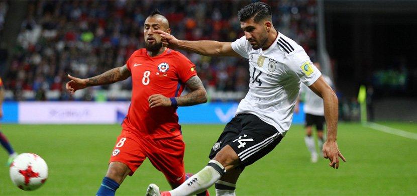 نتيجة مباراة المانيا وتشيلي  اليوم الأحد 2/7/2017 في نهائي كأس القارات 2017