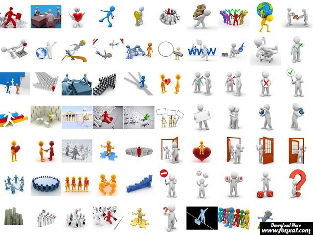 تصاميم شخصيات ثلاثية الأبعاد fonxat - 3D Characters
