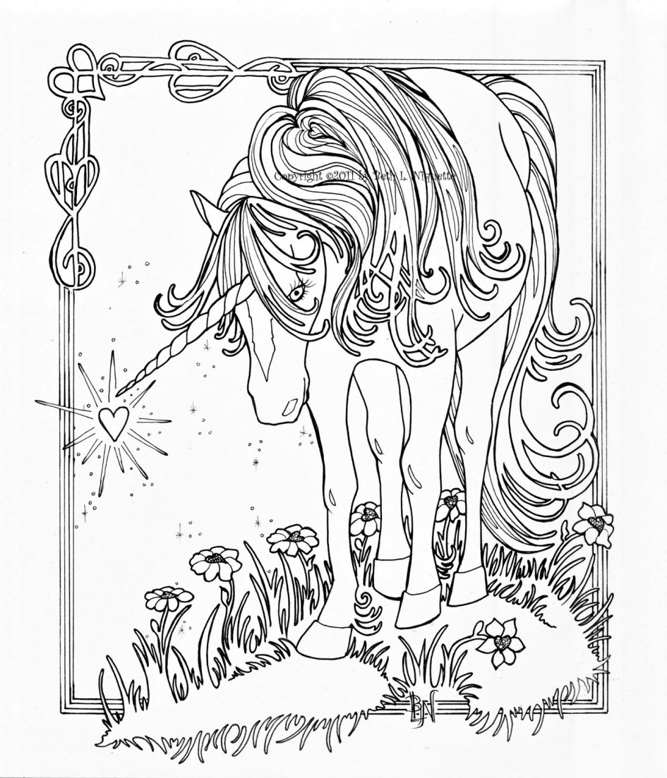 Hd hard coloring pages of unicorns pictures coloring for Hard coloring pages