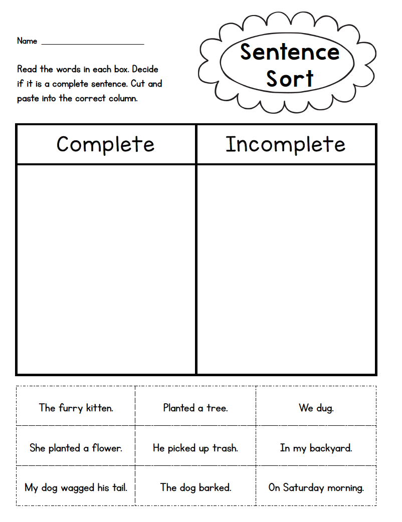 Sarahs first grade snippets super sentences with two freebies update i cleaned this page up a bit robcynllc Images