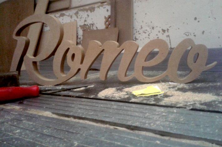 Kimber letras nombres logos y siluetas en madera con tu dise o - Casa letras madera ...