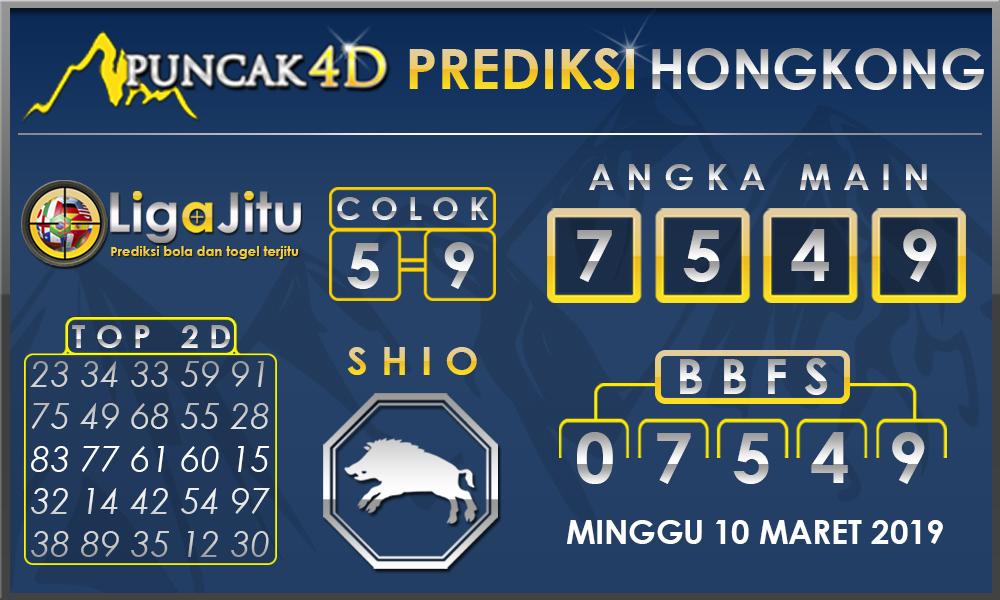 PREDIKSI TOGEL HONGKONG PUNCAK4D 10 MARET 2019
