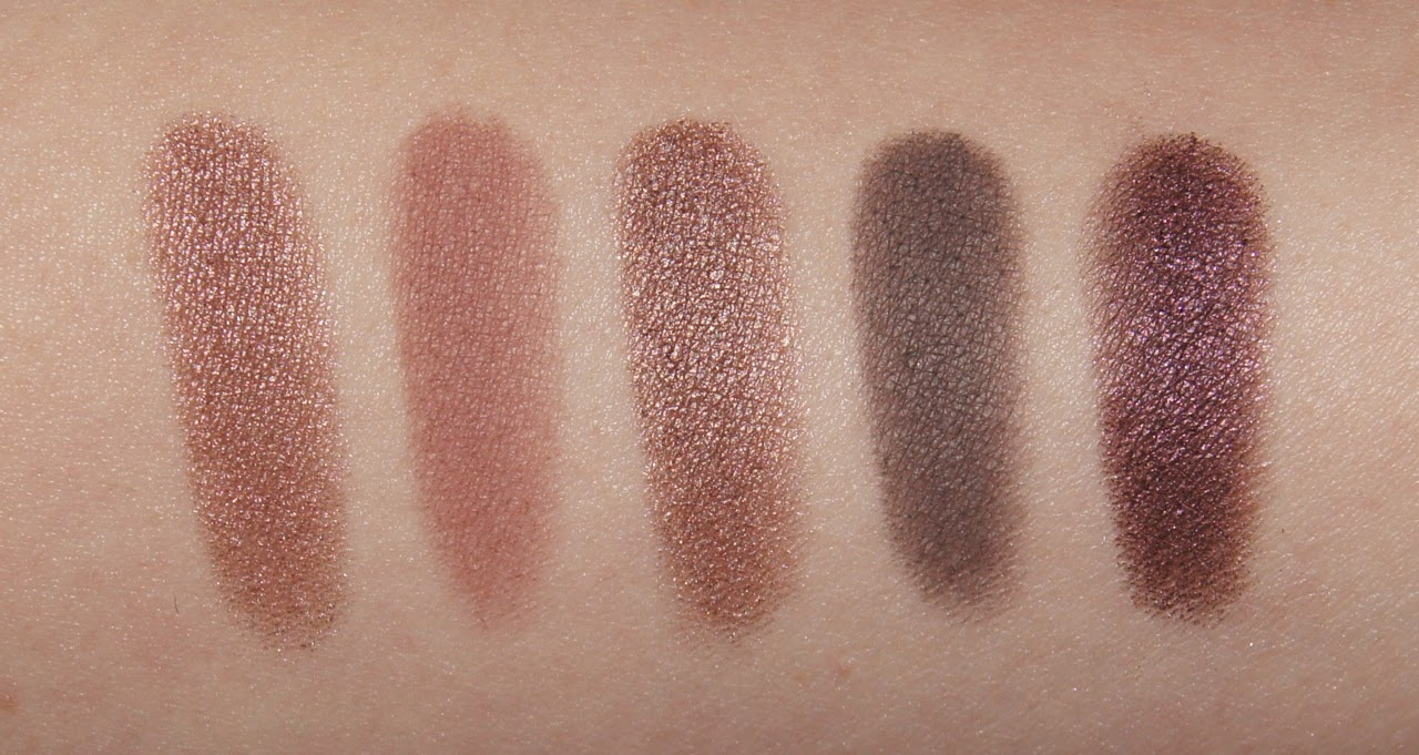 loreal la palette nude rose swatches