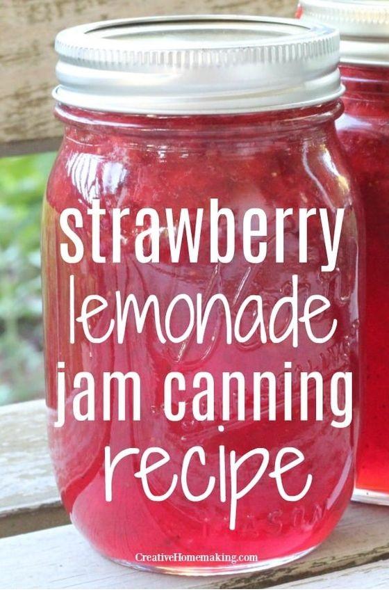 Strawberry Lemonade Jam Recipe