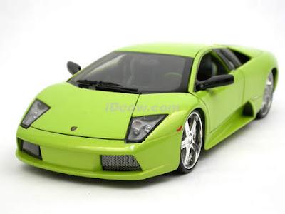 Lamborghini Murcielago model: green color