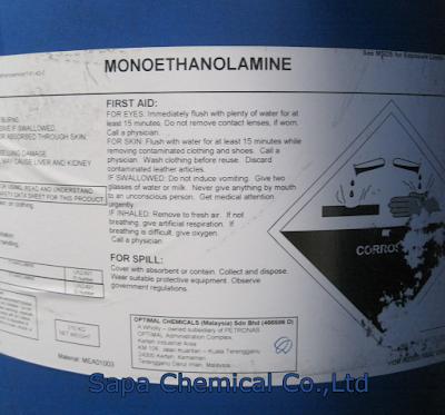 Dung môi Monoethanolamine, MEA
