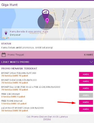 Cara mendapatkan kuota gratis Axis 2017