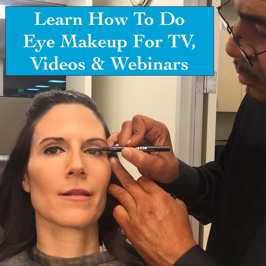 How To Do Makeup For TV, How To Do Makeup For YouTube, How To Do Makeup For Webinars,