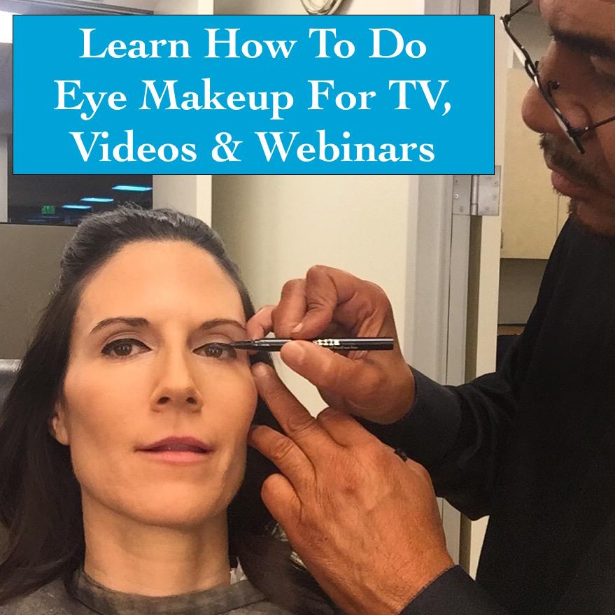 How To Do Makeup For TV, How To Do Makeup For YouTube, How To Do Makeup For Webinars,